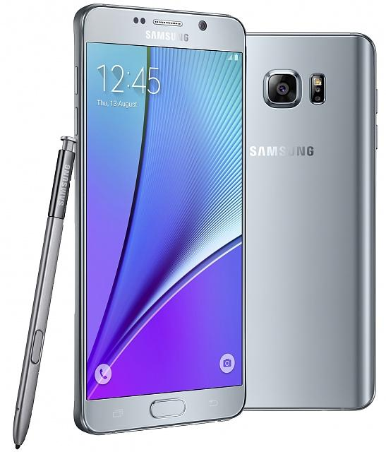 Samsung Galaxy Note 5 32GB silver