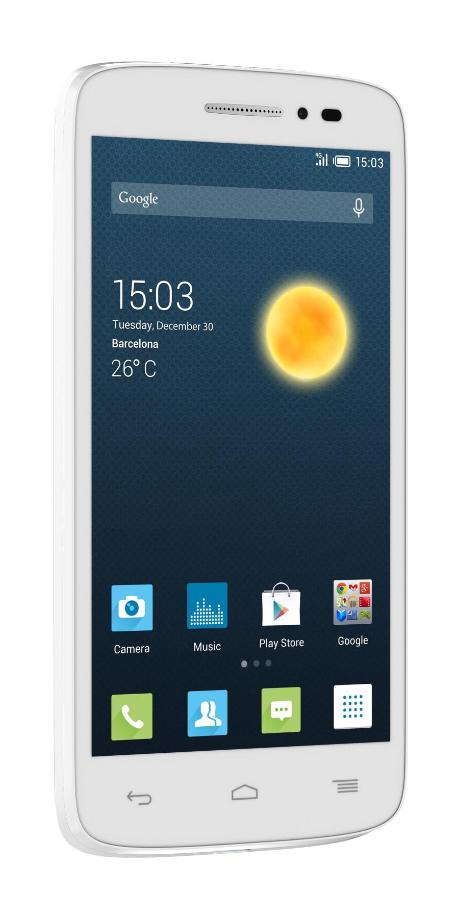 Alcatel One Touch Pop 2 white