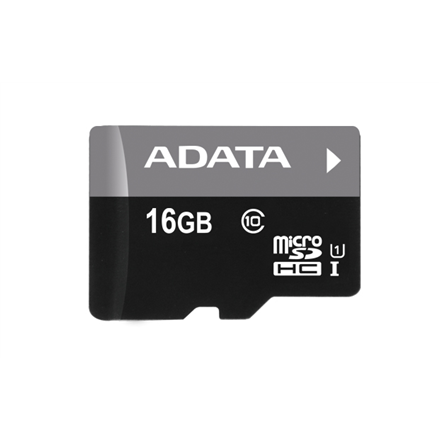 A-DATA 16GB Premier microSDHC UHS-I U1 Card (Class 10), With/otg micro reader BBK, retail