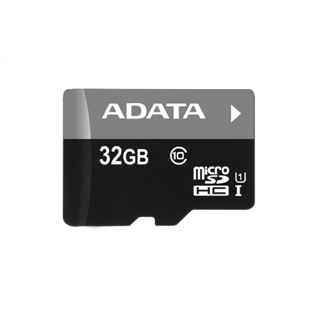 A-DATA 32GB Premier microSDHC UHS-I U1 Card (Class 10), With/otg micro reader BBK, retail