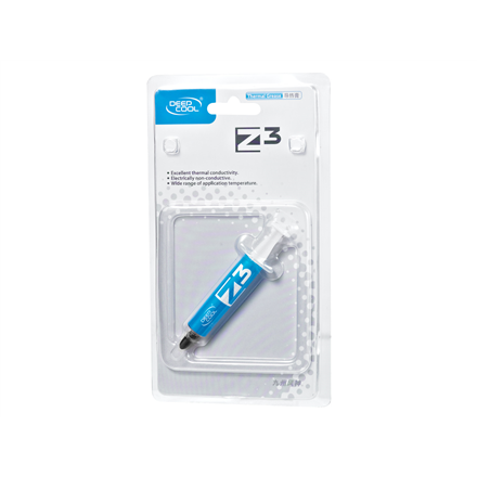 "Deepcool Thermal paste ""Silver TIM Z3"" 1.5g, silver-grey"