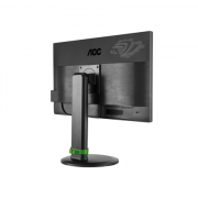 "AOC G2460PG 24"" Gaming NVIDIA G-Sync LED/16:9/1920×1080/350cd/m2/1ms/H-170,V-160/80M:1/Display Port/HAS:130 mm,Pivot,Swivel,Tilt,Vesa/Black 10"