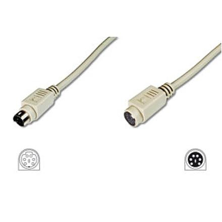 PS/2 cable, 2m