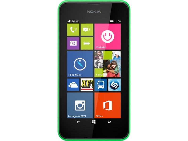Nokia Lumia 530 bright green