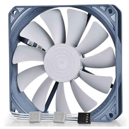 Komponentit->Jäähdytysjärjestelmät : 120mm Slim fan, for PSU and system cooling, PWM Function, Rubber Screw instalation.  Takuu: 24 kk.