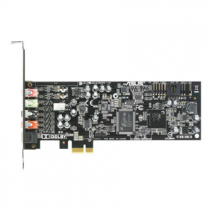 Toimistotarvike->Tasoskannerit : ASUS XONAR DGX(ASM), PCIE 5.1 channel gaming Audio Card; SNR up to 105db Audio Quality; High-Definition Sound Processor (Max. 96KHz/24bit).  Takuu: 36 kk.