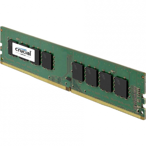 Komponentit->PC RAM-muistit DDR4 (DDRIV) : Crucial 16GB DDR4 UDIMM 288-pin PC4-17000 2133MT/s, CL=15, Dual Ranked, x8 based, DDR4-2133, Unbuffered, NON-ECC, 1.2V.  Takuu: 36 kk.