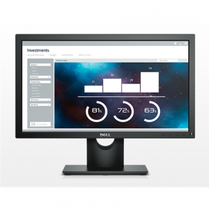"Multimedia->LCD Näytöt 17-20 : Dell LCD E2016H 49.4cm(19.5"")HD/WLED/TN/Antiglare/16:9/1600x900/250cdm2/5ms/H-170,V-160/1000:1/0.248mm/VGA,DP/Tilt,VESA/Black.  Takuu: 36 kk."