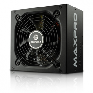 Komponentit->Virtalähteet : Enermax MaxPro series 700W, (80PLUS), Single +12V Rails/ Silent 120mm FAN/ High efficiency >86%/ Active PFC PSU, retail packing.  Takuu: 36 kk.