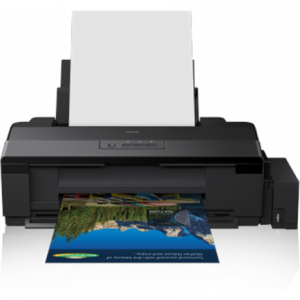 Toimistotarvike->Mustesuihkutulostimet : Epson L1800 ITS A3+ Colour Inkjet Photo Printer / 5760x1440dpi / Print: up to A3+ / Connectivity: USB.  Takuu: 12 kk.