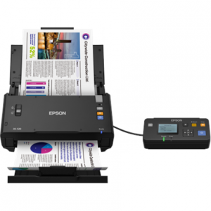 Toimistotarvike->Asiakirjaskannerit : Epson WorkForce DS-520N Color Document Scanner.  Takuu: 12 kk.
