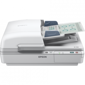 Toimistotarvike->Asiakirjaskannerit : Epson Workforce DS-6500 business scanner / 1200 DPI /  Speed: 25/25ppm / 100 sheets feeder/ A4/ USB 2.0.  Takuu: 12 kk.
