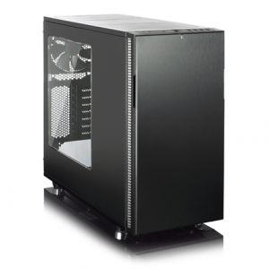 Komponentit->PC kotelot : Fractal Design Define R5 Blackout Window.  Takuu: 24 kk.