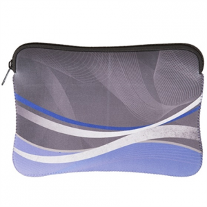 "Kannettavien tarvikkeet->Kannettavien ja tablettien laukut : GOCLEVER NEO Shaped Sleeve for 7.85-8"" Tablet/ Blue/Grey/ with Zipper, High Quality Neoprene/ Packed in Transparent Bag with a Hanger.  Takuu: 12 kk."