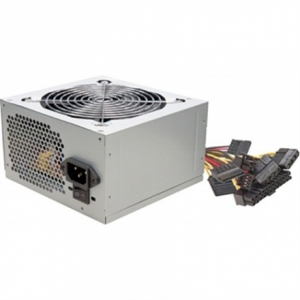 Komponentit->Virtalähteet : Goldenfield power supply ATX  500W, Silent 120 mm fan, 3xSATA, 2 x IDE, 1 xFDD, bulk.  Takuu: 24 kk.