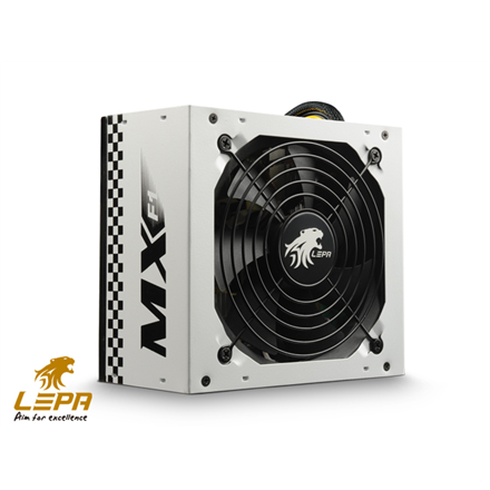 Komponentit->Virtalähteet : Lepa MX-F1 series,  500W,  120mm FAN, High efficiency >83%, Active PFC PSU, retail packing.  Takuu: 24 kk.