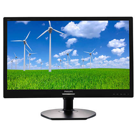 "Multimedia->LCD Näytöt-24 : PHILIPS 241S6QYMB/00 23.8"" IPS/LED/16:9/1920x1080/250 cdm2/5ms/H-178,V-178/20M:1/VGA,DVI-D,DP/Tilt,Pivot,Swivel, HAS:110 mm/Black.  Takuu: 36 kk."