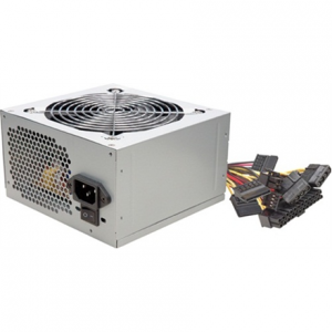 Komponentit->Virtalähteet : Power supply ATX, 420W, whit silent 120mm fan, 3xSATA, ROHS. bulk.  Takuu: 24 kk.