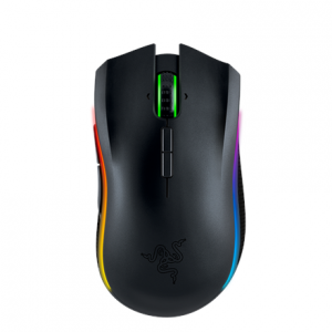 Oheislaitteet->Hiiret : Razer Mamba 16000 - Wireless Multi-color Ergonomic Gaming Mouse.  Takuu: 24 kk.