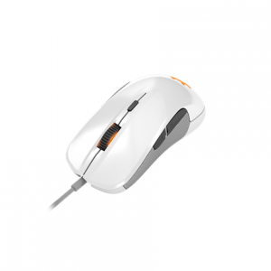 Oheislaitteet->Hiiret : SteelSeries Rival 300 Optical Gaming Mouse, White.  Takuu: 24 kk.