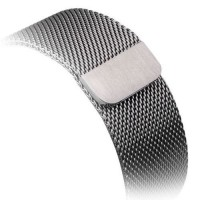 Amanis Stainless Steel Watchband for Apple Watch 38mm silver .  Takuu:  kk.
