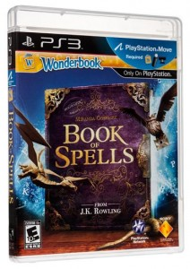 Sony PS3 Wonderbook: Book of Spells .  Takuu:  kk.