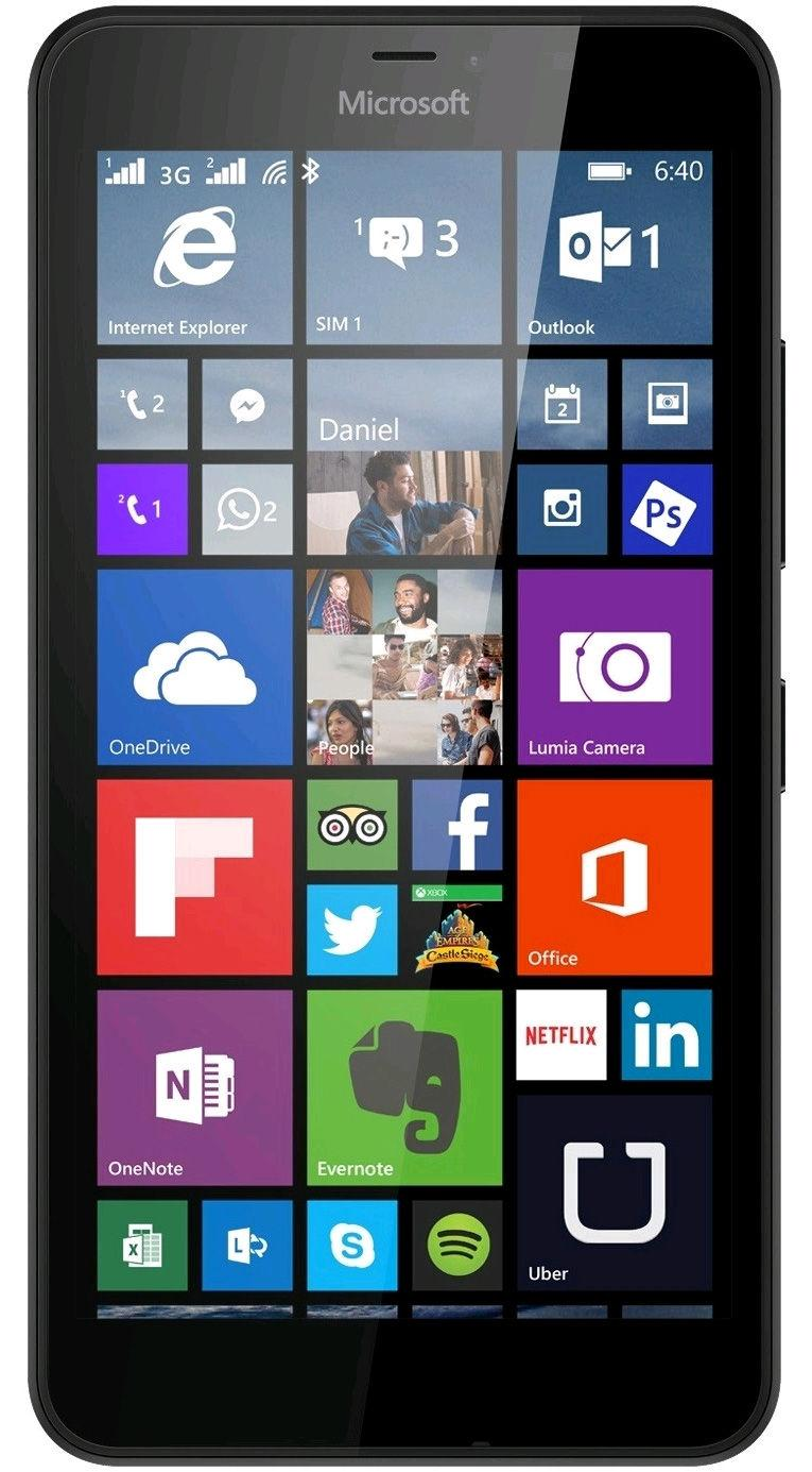 Microsoft Lumia 640 Dual-Sim Black | Vkauppa.fi